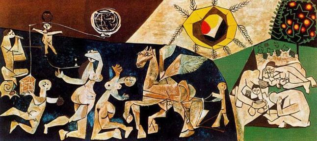 Inauguración escultura «La Paz»